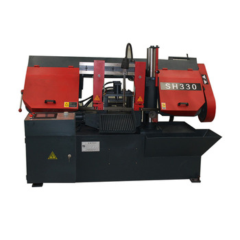 High Efficiency Metal Cutting Belt Saw Metal Machine