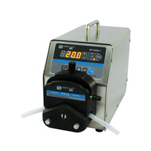 Lead Fluid large torque Peristaltic Pump BT100S-1-YT25 drive 24 heads,max flow26ml/min