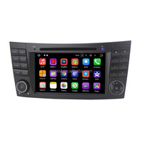 Android 7.1.2 quad-cores HD car gps navigation FM AM BT wifi, for mercedes clk w209 car dvd gps^