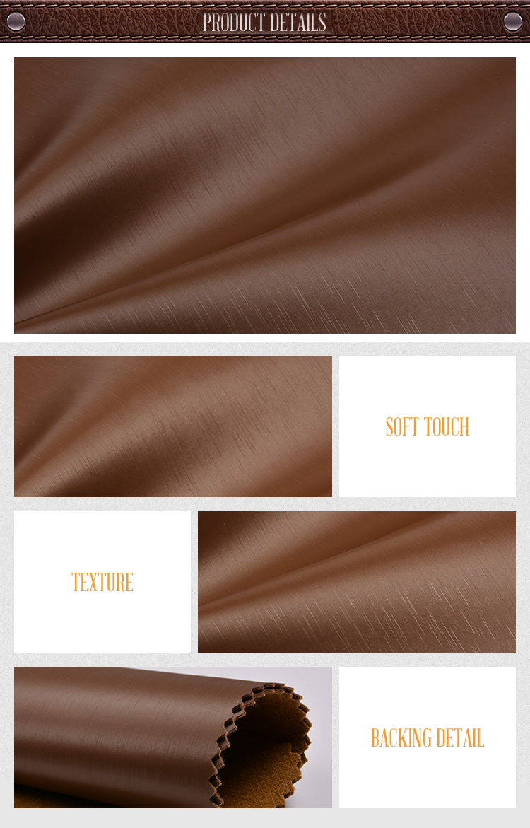 High Quality Pu Synthetic Leather For Living Room Chair