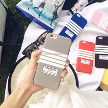 Stripe Mobile Phone Case For iPhone 6 Case ,For iPhone 6 Plus Case