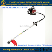 changzhou machinery 26mm Pipe Dia 33.6cc Float Type Carburetor Backpack Gasoline Brush Cutter Grass Trimmer Garden Tools