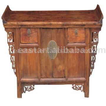 antique furniture-oriental style cabinet