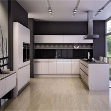 Knock Down Simple style Structure Modern Design Metal Kitchen Cabinet