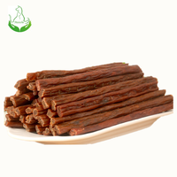 China manufacturer natural treats for dogs beef meat sticks pet snacks