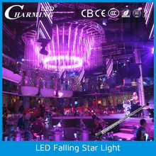 led falling star lights /led falling snow christmas lights