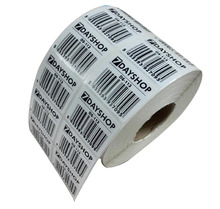 Hot Sale cheap custom pre-printed roll serial sequential number stickers