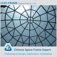 Cheap Price Steel Structure Glass Dome Roof Skylight With CE&CCC