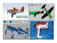 Customised Design My Aero Rc Fighter OEM Brand Mini 2.4G 4CH RTF Foam RC Model Plane