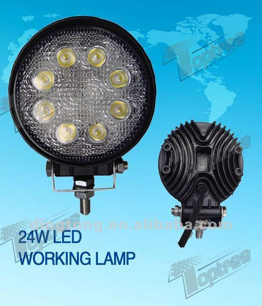TOPTREE 24W Led Working 913 for Atv/Utv/Suv/Truck/Farm Machinery