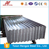 High quality galvanized corrugated steel/zinc plated color roofing tile