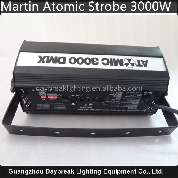 Martin Atomic Strobe 3000w DMX 220V-240V , DMX512 4CH Stage High Power Strobe Light