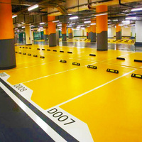 Parking Lot Self Leveling Epoxy Flooring Paint