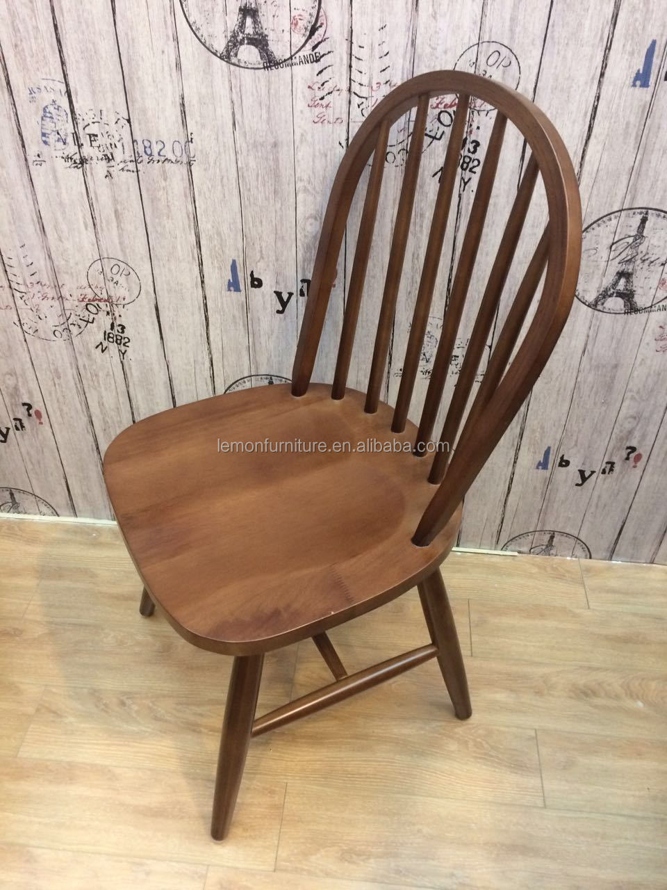 Foshan furniture oak wood chair restaurant dining chair