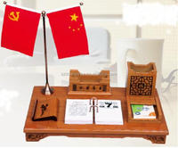 Wholesale high quality muslim calendar with wooden stand