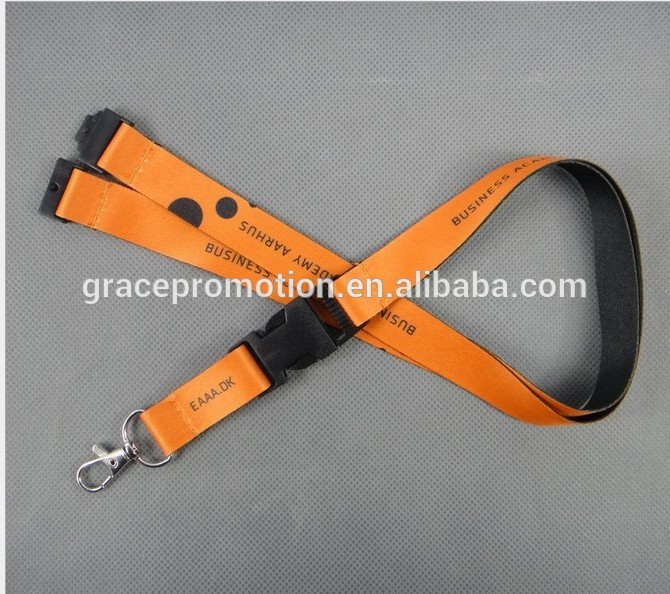 Customized water bottle holder neck lanyard strap for suppliers