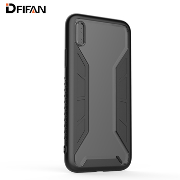 DFIFAN New unique cell phone cover for iphone x TPU+PC mobile phone case for iphone x