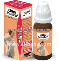 Chhu Manter Herbal Neck Stiffness Oil, Muscle pain relievers pain killer oil