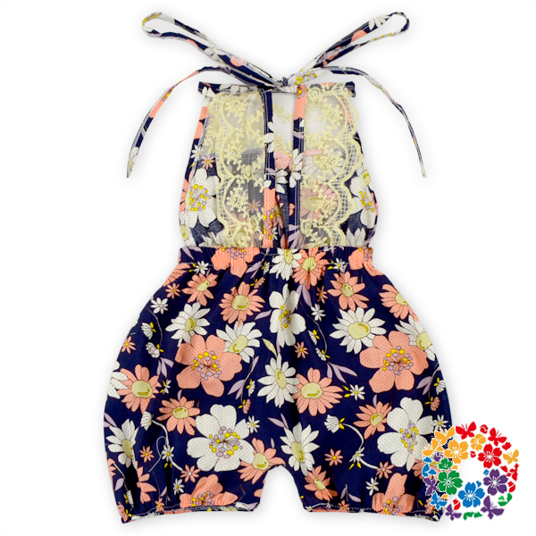 Newborn Baby Jumpsuit Young Girl Floral Romper Baby Cotton Summer Rompers Clothes