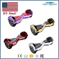 CE Approval UL Charger Chrome 8 inch Hoverboard Electric Self Smart Balance Wheel Hoverboard Scooter