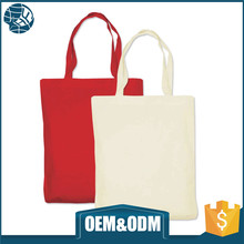 Fashionable durable can handle over 10kg cotton canvas tote bag