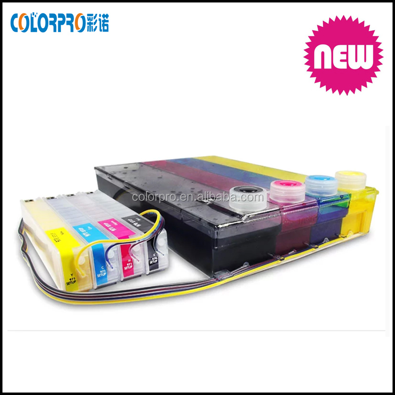 970 971 ciss ink cartridge compatible for hp officejet Pro X451dn/X451dw