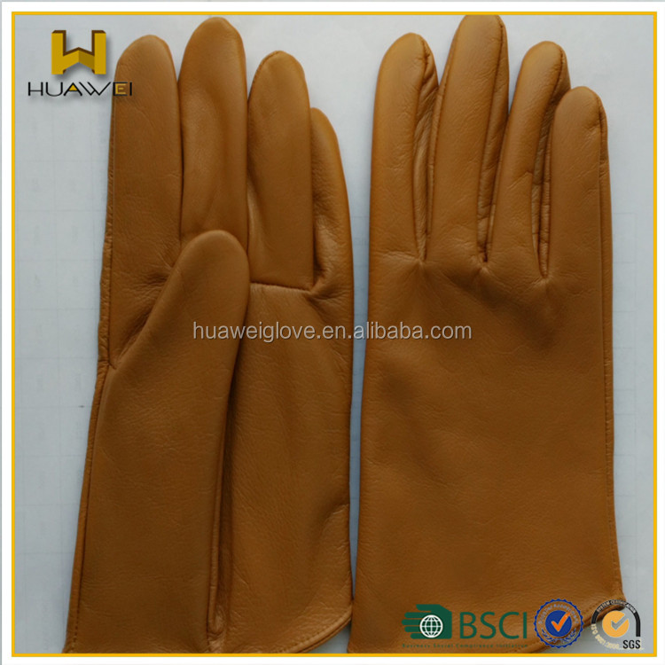 Factory custom made !!! cow leather gloves men leather gloves