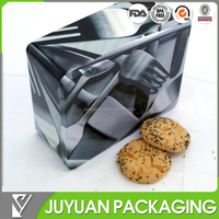 biscuit metal tin box/customized cake cookies food tin box
