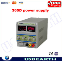 220V YIHUA 305D 30V 5A Adjustable DC Power Supply Mobile phone repair power test regulated power supply