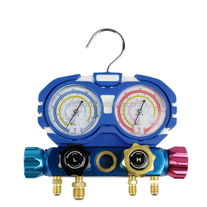 Air conditioner digital refrigerant manifold gauge HFO-1234yf