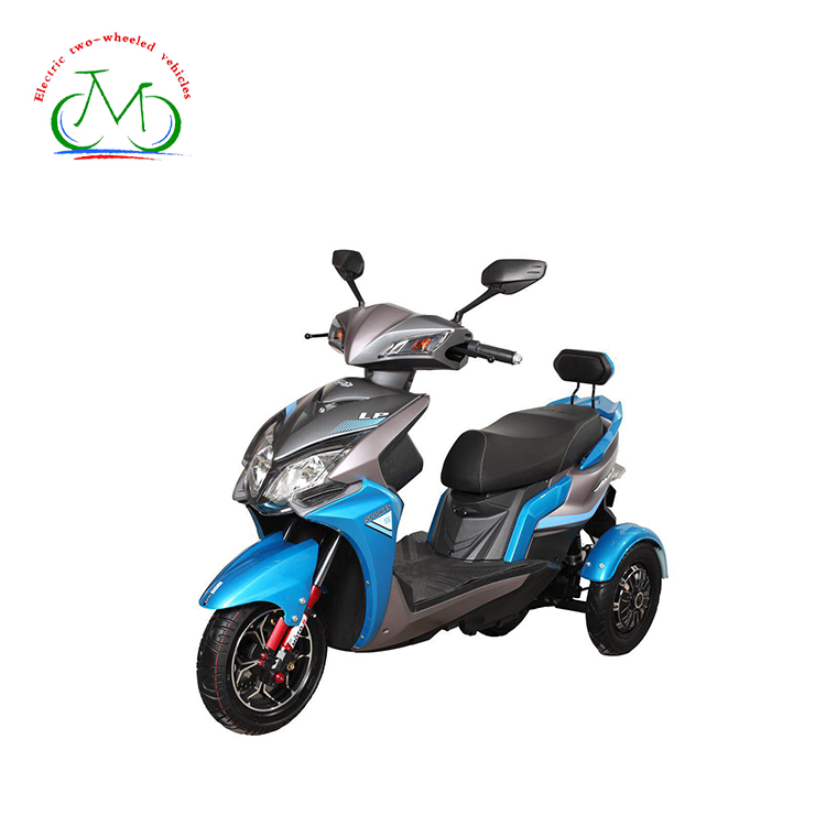 3 wheel motor electric scooter tricycle motorcycle
