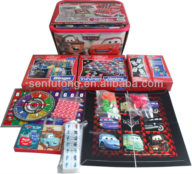 Hot-selling board game set / kids' educational toys / card games