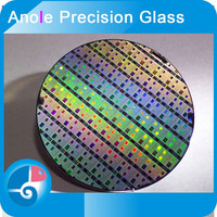 Anole 1.0/1.1/1.2mm 5 inches microsensor aperture level large grinding CPU chip LED chip HAMAI EAGLE-XG solar wafer