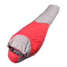 High quality duck down sleeping bag outdoor camping adult sleeping bag