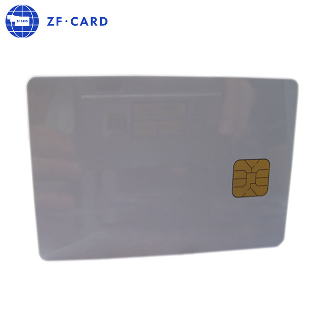 High quality contact smart card sle4428 5528