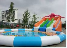 water park giant inflatable water games