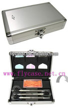 Aluminum frame dart case cheap aluminum cases with carrying