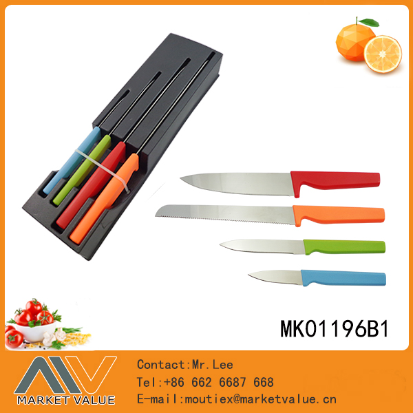 7pcs high quality German 4116 stainless steel kitchen knife set
