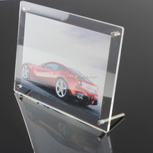 NEW Style & Hot sale clear acrylic photo Frame, magnetic picture frame 5 x 7