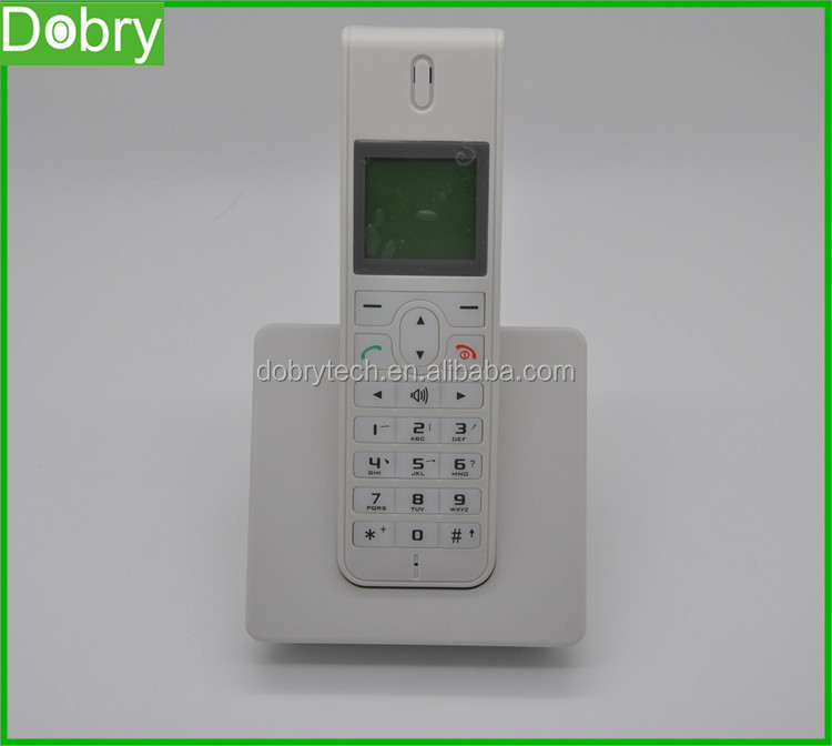 Dual sim card GSM wireless desk phone office telephone set