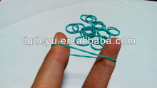 Silicone rubber object rings