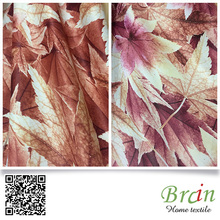 breathable fabric polyester print curtain fabric uk