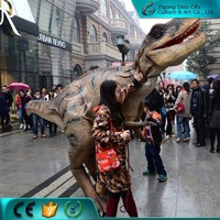 High Simulation Dinosaur Cosplay Costume for Entertainment Games