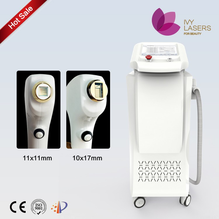 Diode laser 808nm body hair removal machine for men