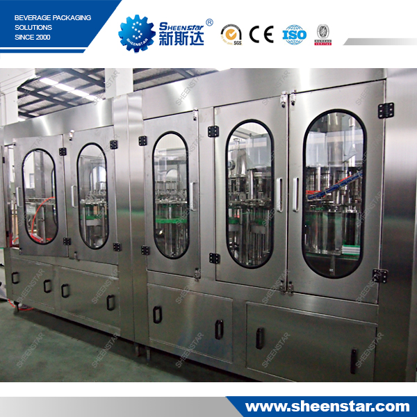 plastic bottle filling equipment