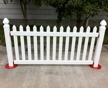 PVC Portable Fence Panels for Rental and Events