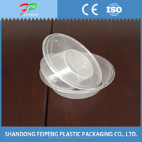 Disposable bento warmer lunch plastic box food