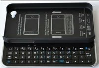 Wireless Bluetooth 2.0 Slide-out BackLight Keyboard for iPhone 4 4S KKB025