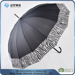 buy wholesale from china 16 ribs regular straight umbrella