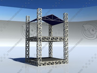 cage building supplies aluminum FOH building driving range cage